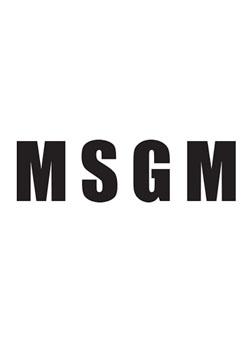 MSGM FELPA/SWEATSHIRT - GREY