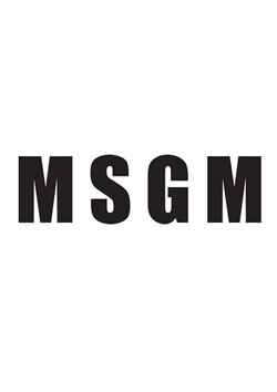 MSGM T-SHIRT/T-SHIRT - BLACK