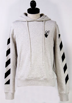 OFF-WHITE PULLOVER HOODIE