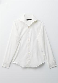 1PIU1UGUALE3 PLAIN SHIRTS - WHITE