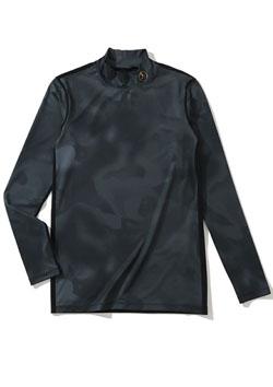 MARK&LONA 19 Compression Mock neck shirts | BLACK | MEN