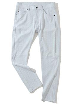 MARK&LONA Ripple Jersey Basic Pants | WHITE | MEN