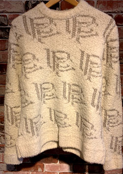lucien pellat-finet LPF jacquard knit | 00WHITE