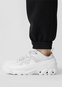 BURBERRY Arthur low-top sneakers   A1454 OFF WHITE