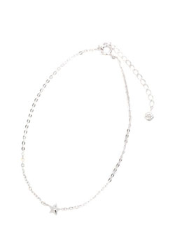 STAR ANKLET ONE DIAMOND