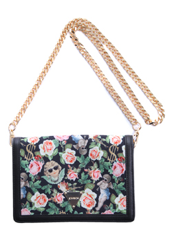 ANGELIC RICH FLORAL SHOULDERBAG