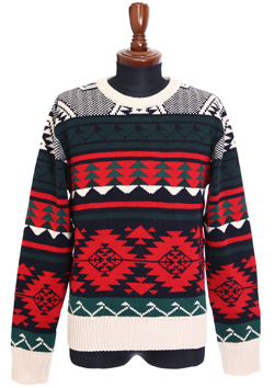 NATIVE CREW NECK SWEATER