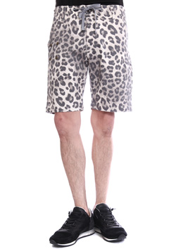 attack the mind 7 LEOPARD REZORT CITY SAFARI SHORT