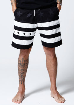 STAR BORDER SURF SHORTS