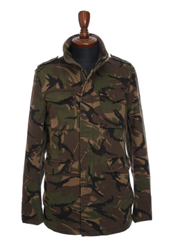 CAMO SWEAT DENIM N E W WAVE M65 JACKET