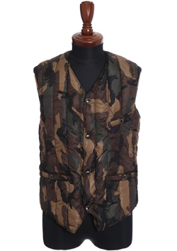 LIMONTA ORIGINAL CAMO 6 MONTH INNER DOWN VEST BY ROCKY MOUNTAIN FEATHERBED