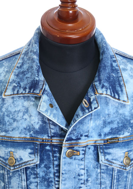 BLEACH DENIM JACKET