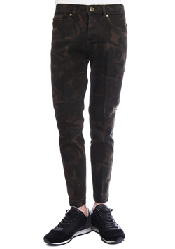 ORIGINAL CAMO STRETCH DENIM TWIGGY PANTS