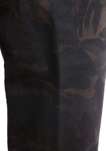ORIGINAL CAMO STRETCH DENIM TWIGGY PANTS