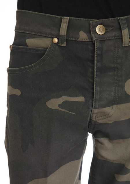 ORIGINAL BIG CAMO STRETCH DENIM TWIGGY PANTS