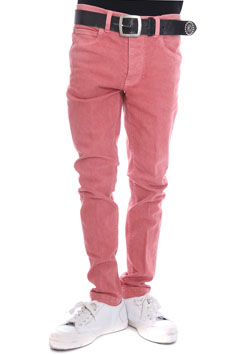 1PIU1UGUALE3 TWIGGY STRETCH SLUB DENIM PANTS