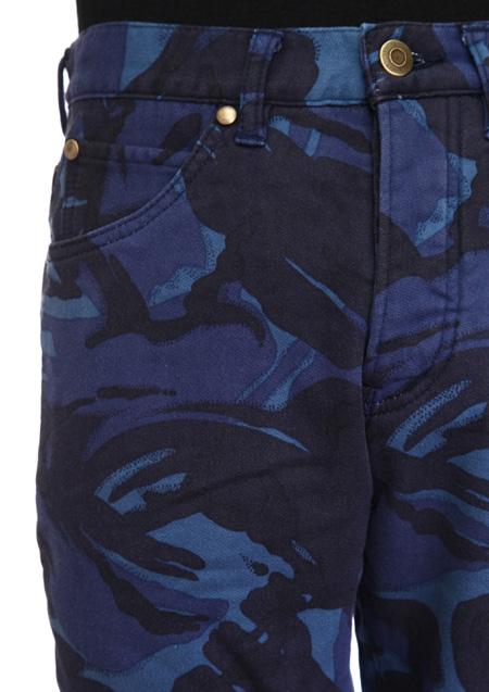 CAMO RIB 5P PANTS