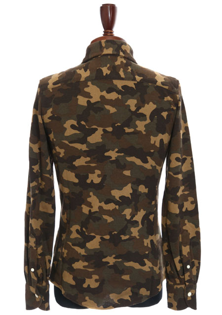ORIGINAL HEAVY KANOKO CAMO PLAIN SHIRTS