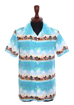 Marbles MIAMI BORDER ALOHA SHIRTS