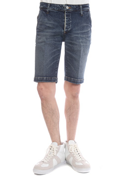 AKM STRETCH DENIM 13OZ SHORTS SHORT PANTS