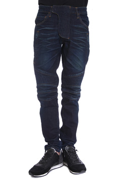 BIKER STRETCH DENIM