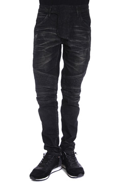 AKM BIKER STRETCH DENIM