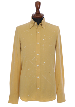 PAINT COTTON /TENCEL SHIRT