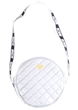 JOYRICH JOYRICH SILVER SHEEN SHOULDER BAG