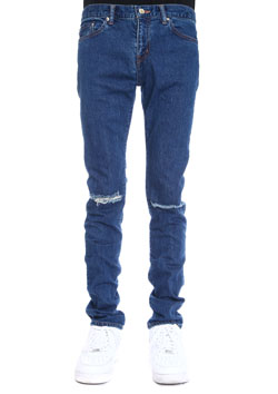 WVM FIRST LINE DENIM 10YEARS DAMAGE DENIM PANTS